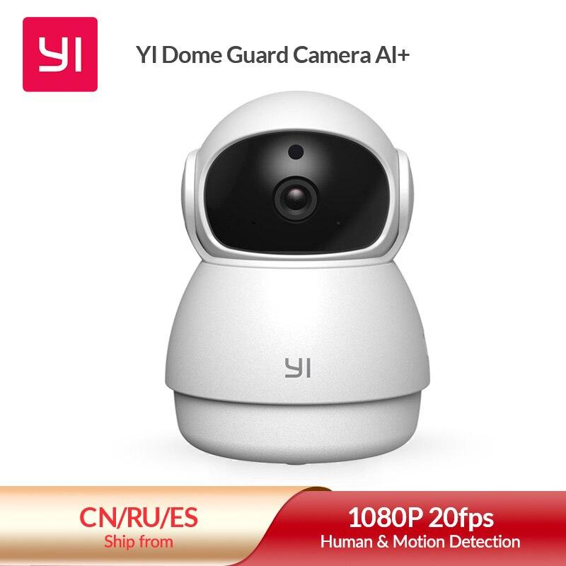 יי כיפת משמר מצלמה 1080p מקורה AI-מופעל Ip מצלמה חכם אבטחת בית מעקב וידאו מערכת אדם & זיהוי תנועה