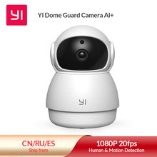 Yi Dome Guard Camera 1080P Indoor Ai-Aangedreven Ip Camera Smart Security Home Video Surveillance System Human & bewegingsdetectie