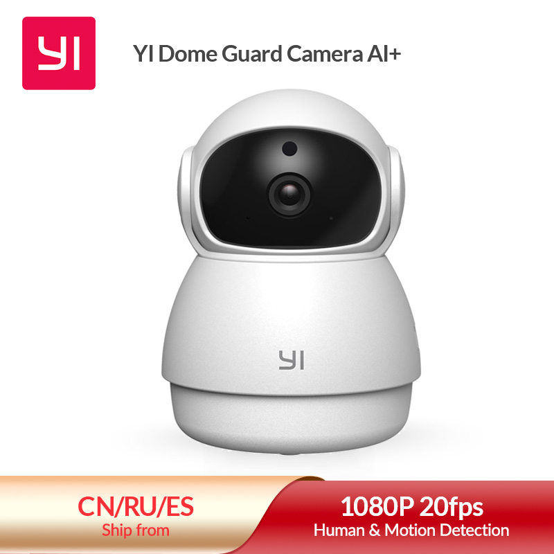 YI Dome Guard Camera Indoor AI Powered 1080p Security Home Surveillance System Human & Motion Detection Abnormal Sound Detection|Surveillance Cameras| - AliExpress