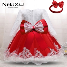 Girls Birthday Dress For Baby Christmas Baby Girl Baptism Dresses 1 2 Years Old Baby Birthday Party Vestido Toddler Outfits