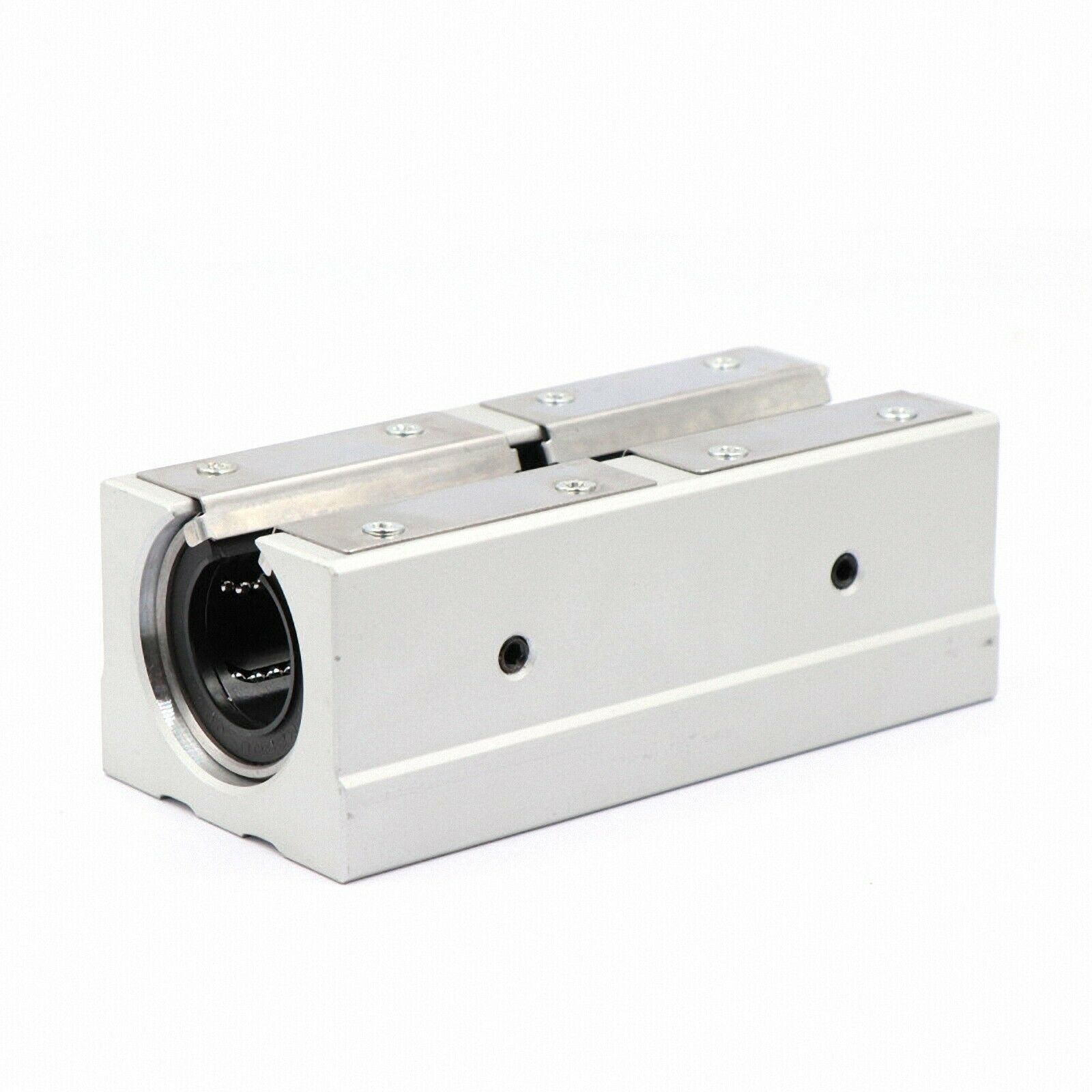 1pcs <font><b>linear</b></font> slide bearing SBR25LUU long type housing pillow block match use <font><b>SBR25</b></font> 25mm <font><b>linear</b></font> guide <font><b>rail</b></font> image