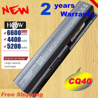 HSW Батарея для Compaq CQ50 CQ71 CQ70 CQ61 CQ45 CQ41 CQ40 для hp павильон DV4 DV5 G50 G61 Batteria Быстрая доставка