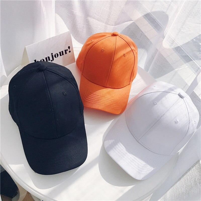 Women Baseball Cap Snapback Casquette Solid Color Men's Baseball Cap Outdoor Sun Hats Summer gorras hombre Adjustable Caps 2020 (21)