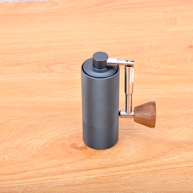 New foldable Aluminum portable coffee grinder steel grinding core design super manual coffee mill Dulex bearing