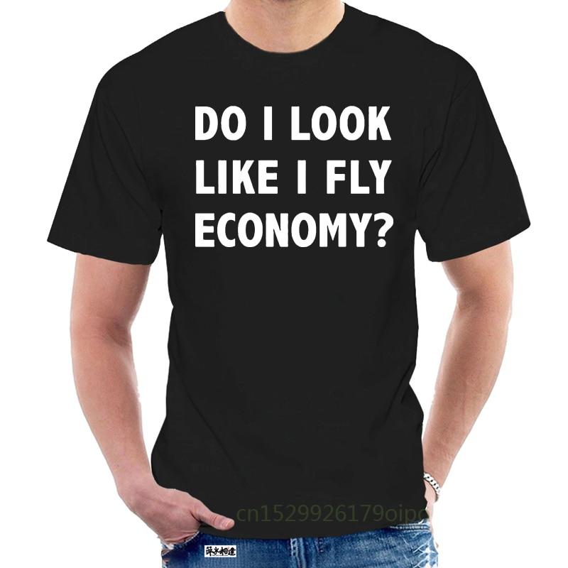 Camisa de aviação t-camisa de vôo engraçado-& #034; eu pareço voar economia & #034; @ 104267