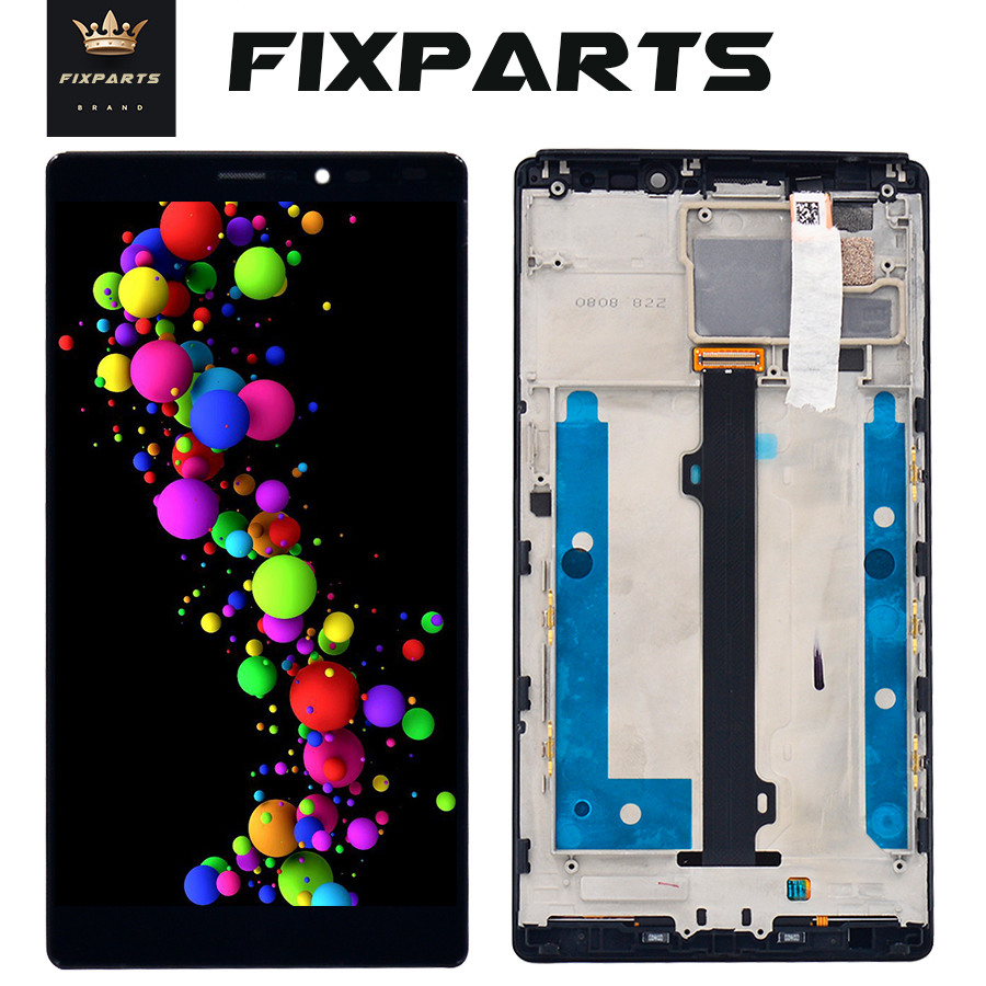 Tested <font><b>LCD</b></font> <font><b>Lenovo</b></font> <font><b>Vibe</b></font> <font><b>Z2</b></font> Pro K920 <font><b>LCD</b></font> <font><b>Display</b></font> <font><b>Touch</b></font> <font><b>Screen</b></font> Digitizer Assembly With Frame 6.0