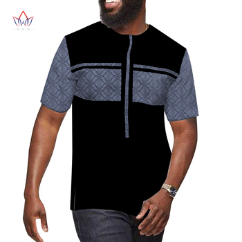 NEW African O-neck Clothes For Men Short Sleeve Wax top selling product in 2020 mens designer clothes plus size WYN1328