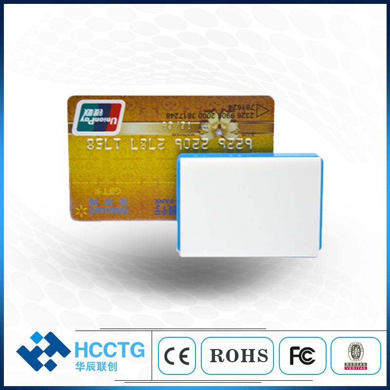 Mobile EMV credit card reader Bluetooth Three-in-one NFC+RFID+IC+Mifare Magnetic Mobile Card Reader for Android IOS MPR110 image