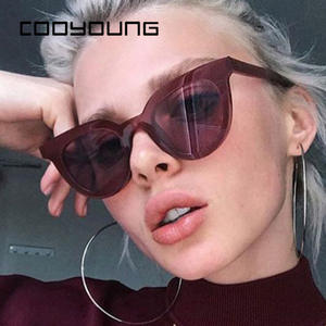 Ladies Sunglasses COOYOUNG Women Fashion Sexy Plastic UV400 New