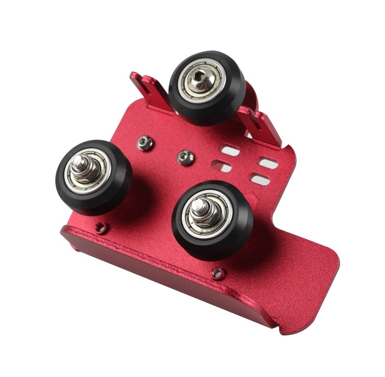 CR10S PRO Extruder Back Support Plate with Pulley as 3D Printer Accessories