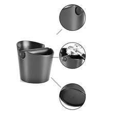 Stainless Steel Coffee Knock Box Espresso Grounds Waste Bucket Container Durable coffee grind trash bin