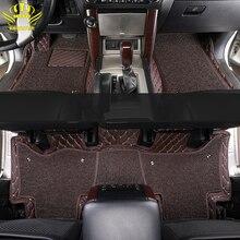 רצפת המכונית מחצלת עבור Lada טויוטה לנד קרוזר 100 200 Prado120 150 peuge קאמרי קורולה הנצח Kia BMW יונדאי פולקסווגן ניסן