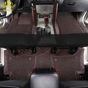 Image 1 - רצפת המכונית מחצלת עבור Lada טויוטה לנד קרוזר 100 200 Prado120 150 peuge קאמרי קורולה הנצח Kia BMW יונדאי פולקסווגן ניסן
