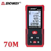 Sndwayレーザー距離計測定範囲120メートル100メートル80メートル70メートル60メートル50メートル40メートルレーザールーレットレーザー距離計狩猟ファインダー定規