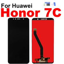 For Huawei Honor 7C aum-L41 Aum-L41 Display Touch Screen Digitizer LCD Assembly for Honor7C Screen with Frame Repair Replacement