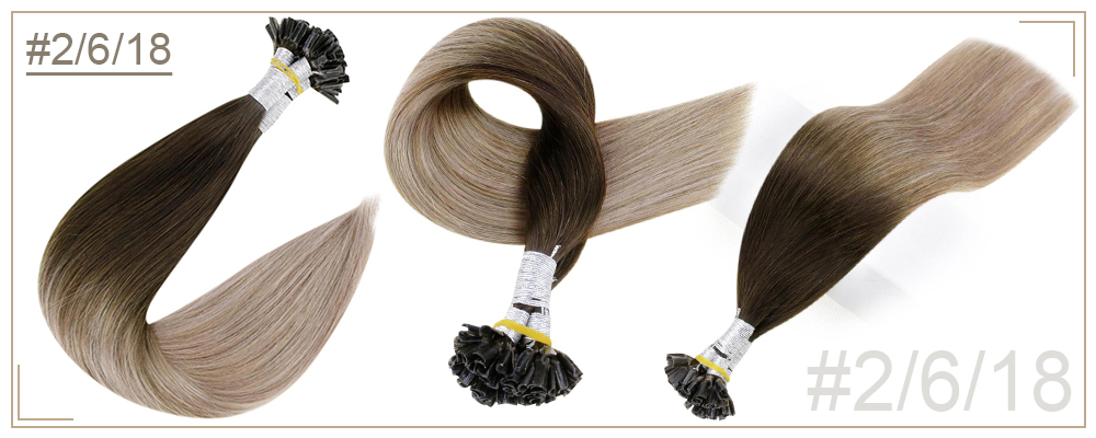 fusão de brilho completo extensões de cabelo