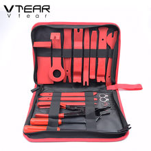 Car Disassembly Tools Interior Kit Audio Removal Trim Panel Dashboard Pry Door Clip Radio Panel Repair Tool Auto Accessories(China)