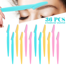 36pcs Portable Eyebrow Trimmer…
