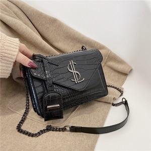 Image 2 - Luxury Handbags Famous Brand Women Bags Designer Lady Classic Plaid Shoulder Crossbody Bags Leather Women Messenger handbags
