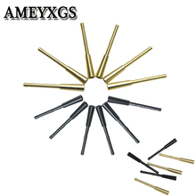 10 Pcs 2 Colors Fit for ID 4.2mm Arrows Shaft Aluminum/Copper Archery Arrow Insert Connect Seat Hunting Shooting Accessories