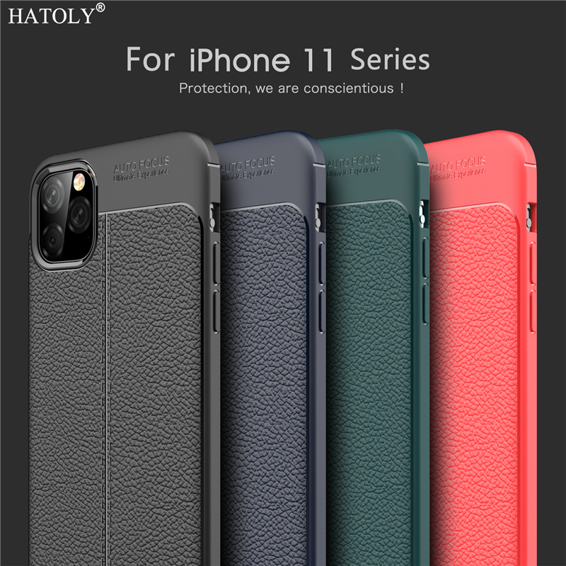 Hb29d1fb5b525468283ae010fcc7345d3I For iPhone 11 Pro Max Case 7 8 5S 6S Plus XR XS SE Apple Case Luxury Leather PU Soft Silicone Phone Back Cover For iPhone 11 Pro