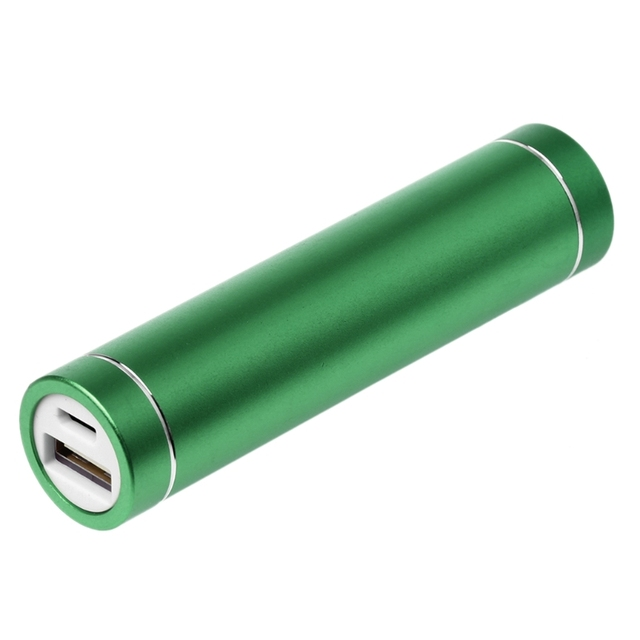 Metal USB 5V Power Bank Box Kit 1X 18650 Battery DIY Box Charger For Cell Phone Power Bank Accessories Green 1