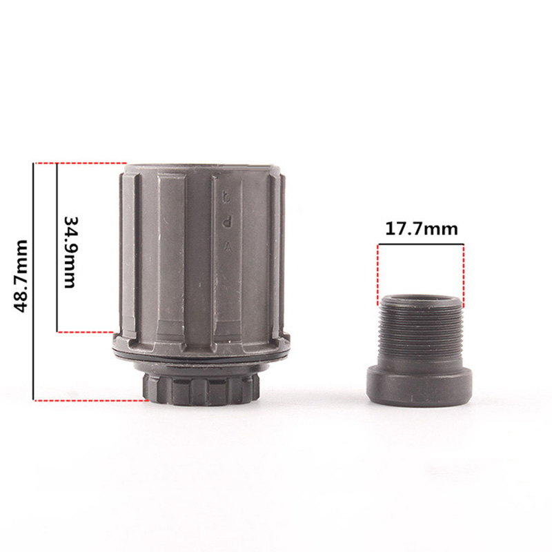 Attachment Sports Bikes Bicycle Replacement Cassette Hubs Freehub Body MTB Steel