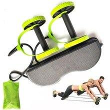 AB колеса ролик стрейч эластичный абдоминальное сопротивление Тяговый инструмент для веревки AB ролик для тренировки мышц живота