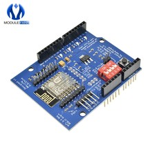 ESP8266 ESP-12 ESP-12E UART Wifi Wireless Shield Development Board For Arduino Mega UNO R3 Module Mega 3.3V 5V TTL Interface one(China)