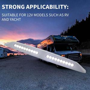 LED RV Awning Light Waterproof Marine Caravan Camper Exterior Porch Camping Lamp Suitable for Use of 12v Models Such as RV Yacht(China)