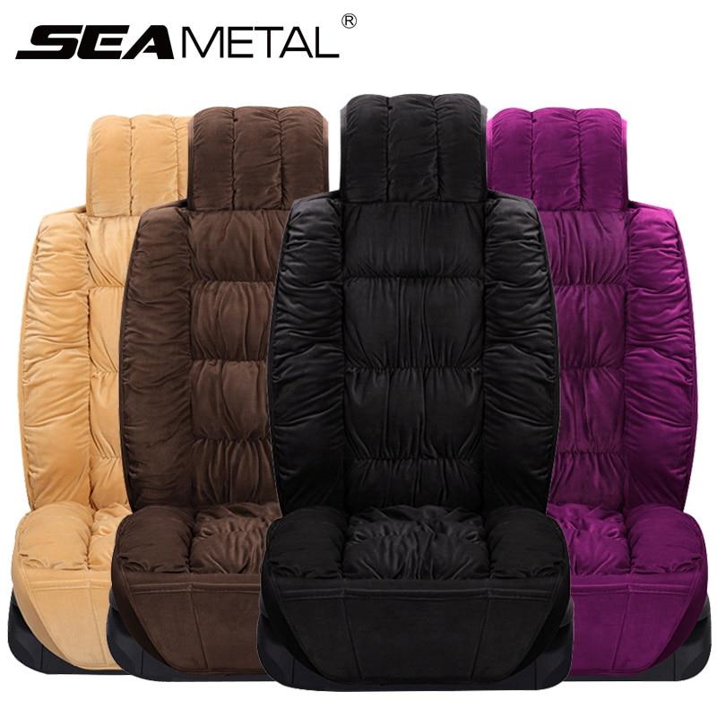 Fantastic Best Sale Car Seat Cover Warm Universal Car Seat Winter Inzonedesignstudio Interior Chair Design Inzonedesignstudiocom