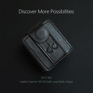 Image 3 - FiiO M5 עור מקרה, מוסיקה נגן mp3 מגן מקרה, DAP עור כיסוי (עם לולאה אלסטית רצועה) שחור, שעון להקת שימוש.