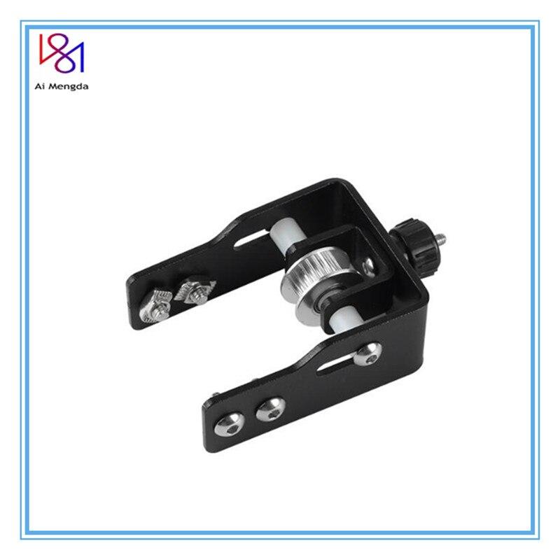 Piezas de impresora 3D, tensor de cinta síncrona CR10 para Creality CR-10 CR10S, color negro, 2040, perfil, eje Y