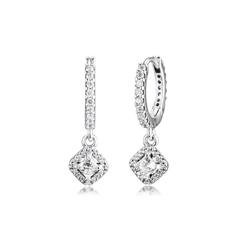 GPY Earrings for Women Sparkling Hoop Earring Pendientes Kolczyki Earings Aretes Brincos...