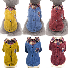Dog Clothes New Winter Warm Pet Dog Sweater Coat for Small Medium Dogs Turn-collar Puppy Cat Jacket Outfit Clothing S-2XL children s clothing danish princess loves round collar asymmetric bow small a word swing warm coat