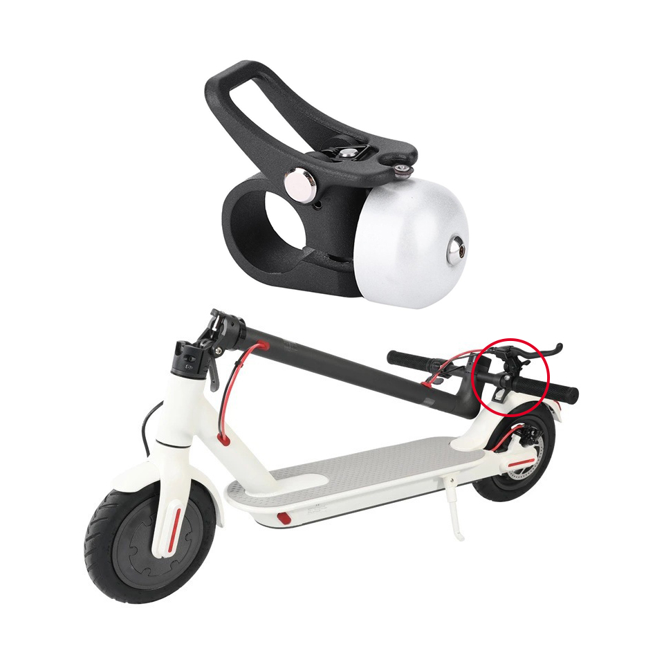 Aluminum Alloy Scooter Bell Horn Ring Bell With Quick Release Mount For Xiaomi Mijia M365 Electric Scooter Acessory New Arrived