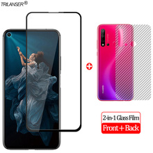 2-in-1 Front + Back Full Cover Glass Film Honor20 Honor 20 Pro Screen Protector Honor 20 Pro Tempered Glass Honor 20 2 in 1 camera len glass film honor 20 pro screen protector protective glass honor20 pro tempered glass honor20 honor 20 pro