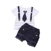 Tracksuits Clothing-Sets Infant Shorts Kids t-Shirt Toddler Baby-Boys-Girls Cotton Children Fashion