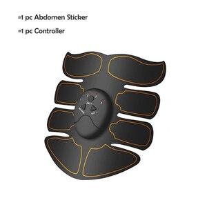 Image 1 - Yooke inteligentny akumulator Pulse stymulator mięśni elektryczny masażer wyszczuplający tłuszcz 10 sztuk samoprzylepne wymiana Unisex