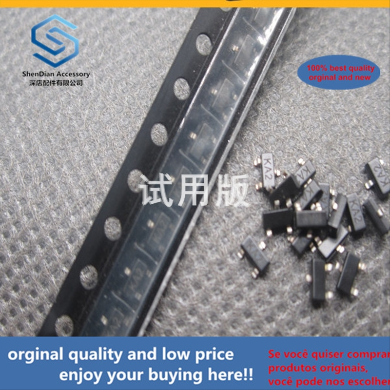 50pcs 100% Orginal New Best Quality MMBD4148 SMD Switch Triode Silkscreen KA2 SOT-23 0.2A 75V