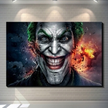 DC Movie Joker Posters Canvas Paintings on Wall Comics Wall Art Pictures Joaquin Phoenix Film Posters top posters холст top posters 50х50х2см g 1033h