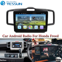 YESSUN רכב אנדרואיד מולטימדיה נגן להונדה פריד GPS ניווט גדול מסך מראה קישור אוטומטי רדיו Bluetooth