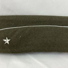 GARRISON CAP GENERAL HAT WWII Military-Hat OFFICER'S Us Army WOOL WW2 WAR STAR MEN ONE