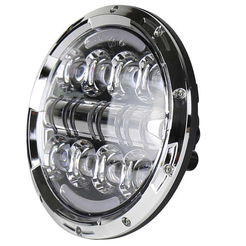 をベクトラ 7 インチ騎手のランプ led ヘッドライト車/バイク 80 ワットヘッドランプ