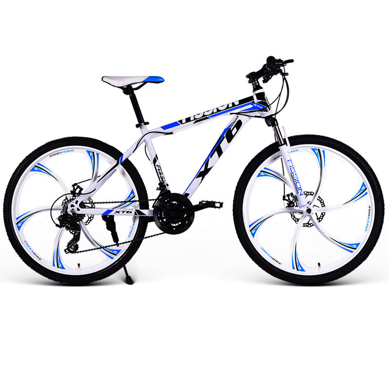 24/26 Inch Mountain Bike 21/24/27/30 Speed Variable Speed Double Shock Adult Student Off-road Racing