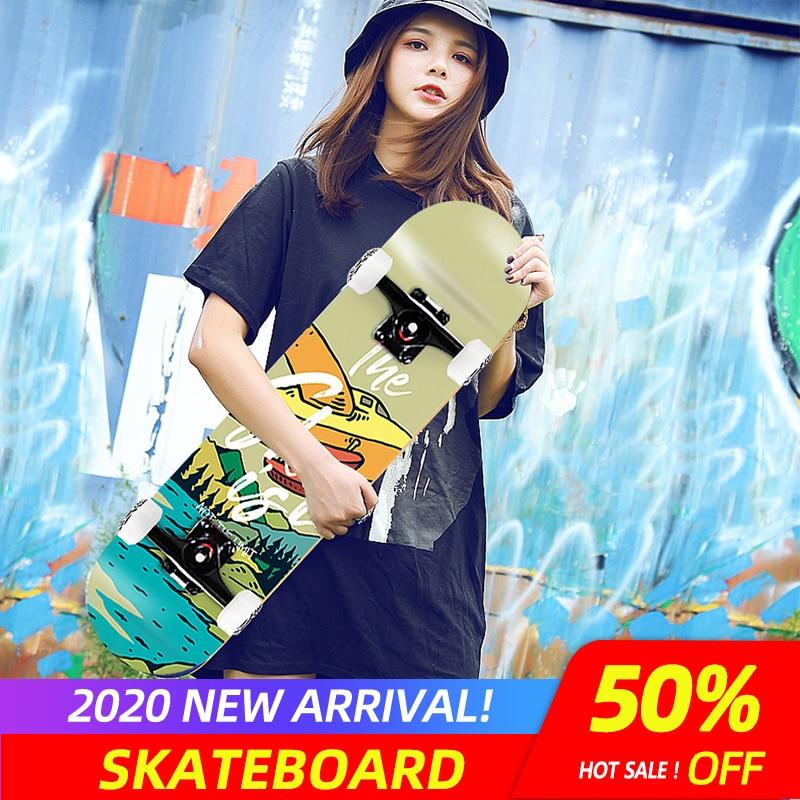 Four-wheel Adults Skateboards Boys And Girls Skate Boards Hip-hop Board
