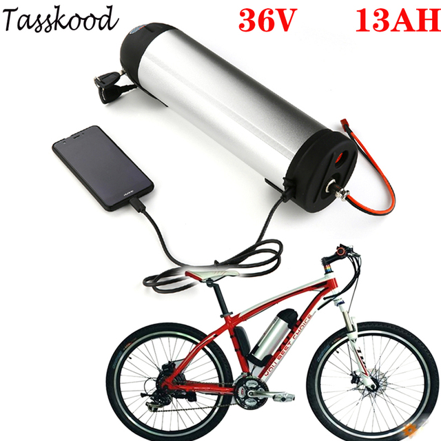 36V 15AH 750W 500W 350W Electric Bicycle Battery Lithium Li-ion Charger E-bike