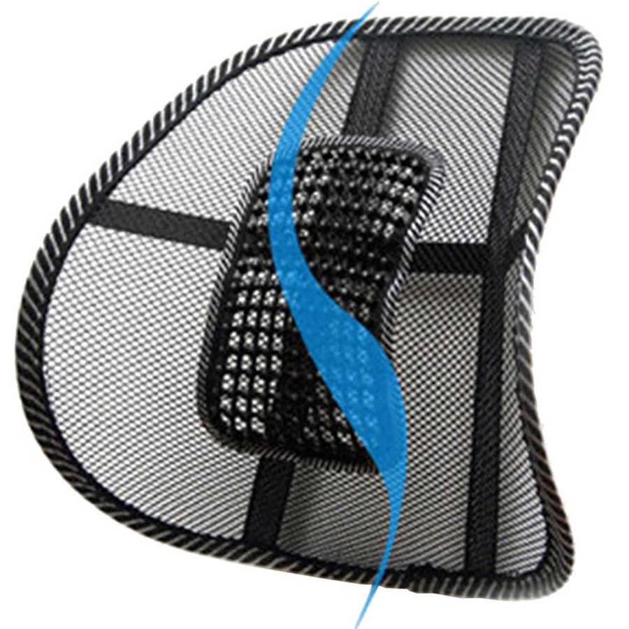 Chair Back Support Massage Cushion Mesh Relief Lumbar Brace Car Truck Office Home Cushion Seat Chair Lumbar Back Support Chair