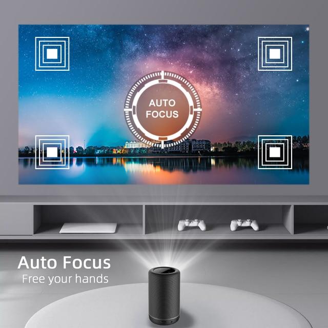 BYINTEK P30 Pocket Portable Smart Android WIFI Full HD 1080p TV Video LED DLP Mini Projector for 4K Cinema Smartphone 5