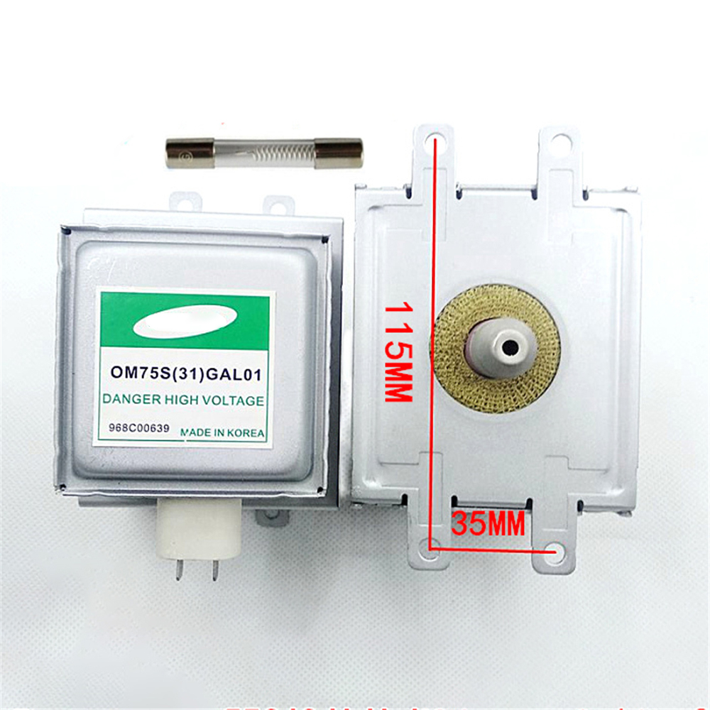 Microwave Oven For Samsung Magnetron OM75S(31)GAL01 Refurbished Parts Magnetron With High Voltage Fuse Microwave Oven Parts